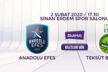 Anadolu Efes Bandırma bilet nasıl alınır?
