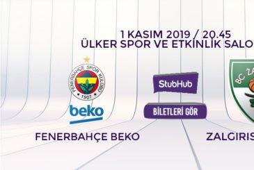 Fenerbahçe Zalgiris bilet nasıl alınır?