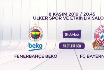 Fenerbahçe Beko Bayern Münih bilet nasıl alınır?