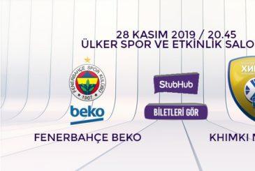 Fenerbahçe Beko Khimki bilet nasıl alınır?