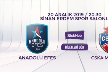 Anadolu Efes CSKA bilet nasıl alınır?