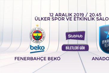 Fenerbahçe Anadolu Efes bilet nasıl alınır?