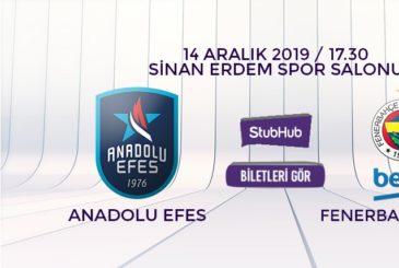 Anadolu Efes Fenerbahçe bilet nasıl alınır?