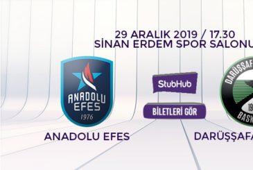 Anadolu Efes Darüşşafaka bilet nasıl alınır?