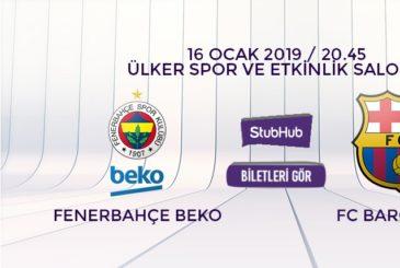 Fenerbahçe Beko Barcelona bilet nasıl alınır?