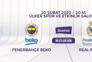 Fenerbahçe Beko Real Madrid bilet nasıl alınır?