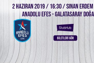 Anadolu Efes Galatasaray Bilet